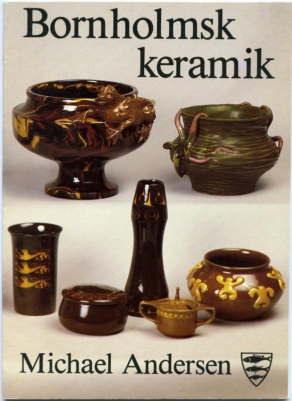 bornholms keramik Bornholmsk keramik   Michael Andersen   Bornholms Lille Boghandel bornholms keramik