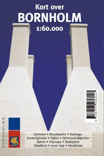 Kort over Bornholm 1:60.000