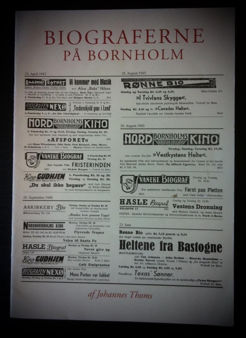 biograferne på bornholm