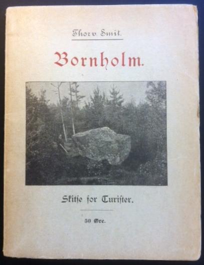 Bornholm skitse for turister 1898