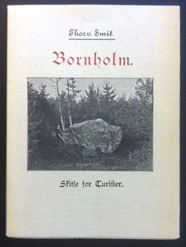 Bornholm skitse for turister 1969