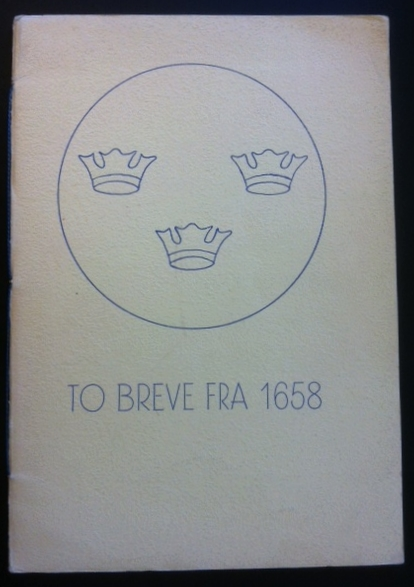 To breve fra 1658