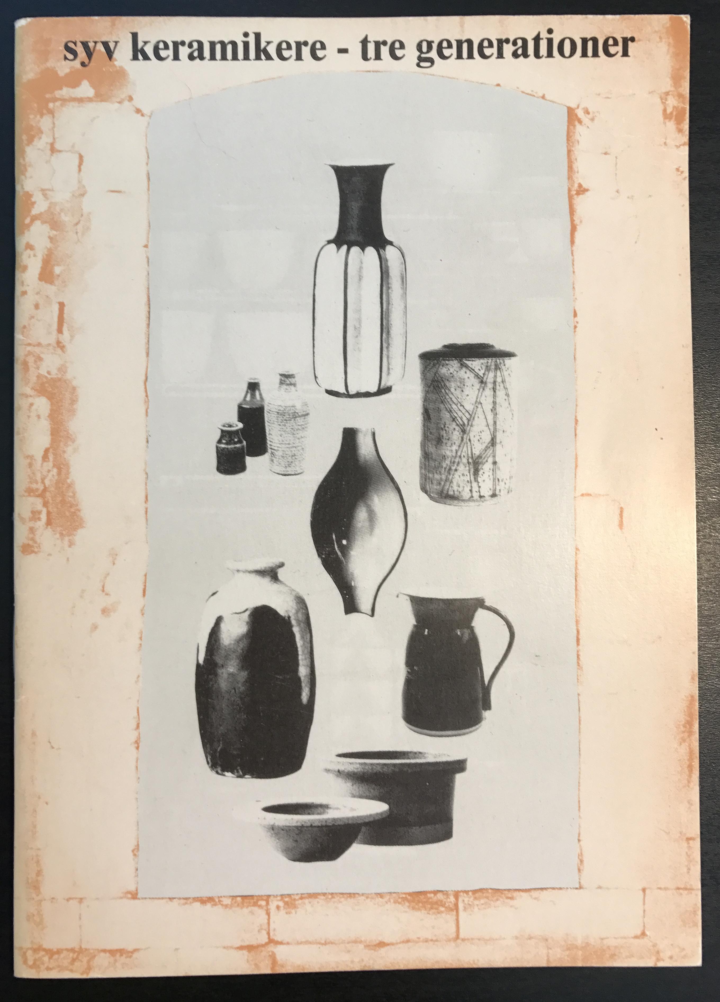 syv keramikere - tre generationer