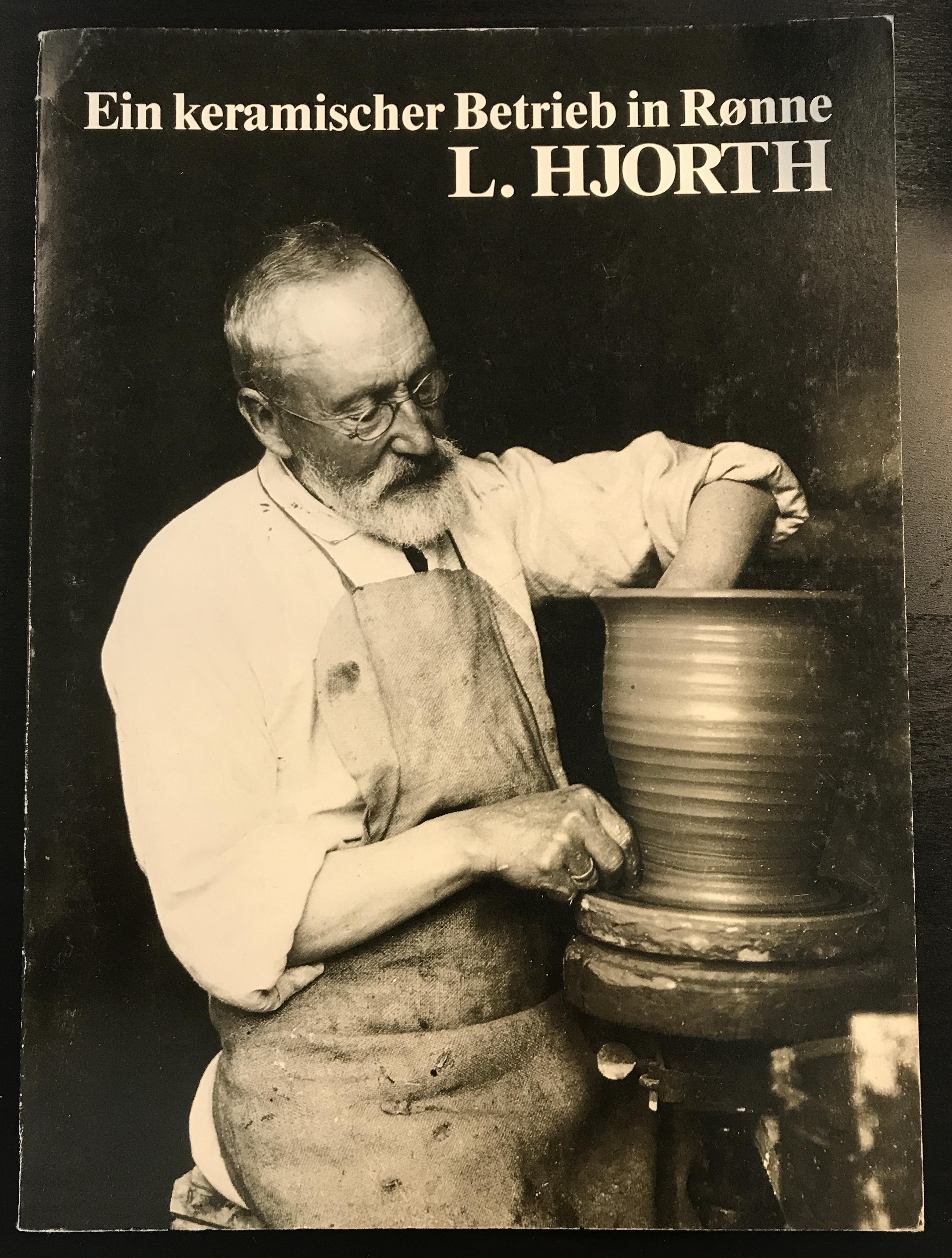 Ein keramischer betrieb in Rønne L. Hjorth