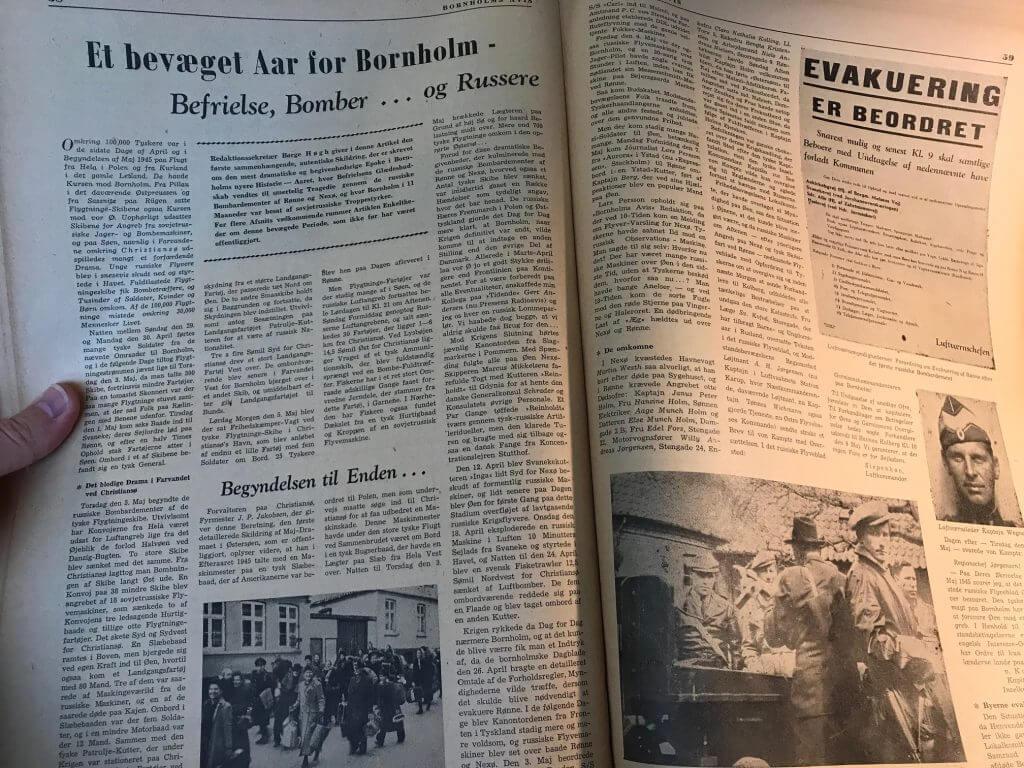 Bornholms Avis 1953 opslag