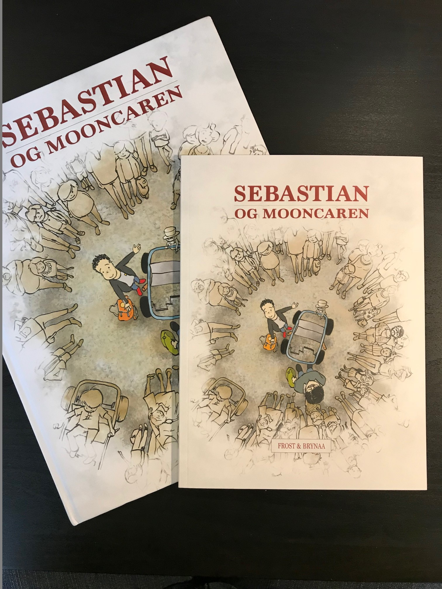 Sebastian og Mooncaren lille