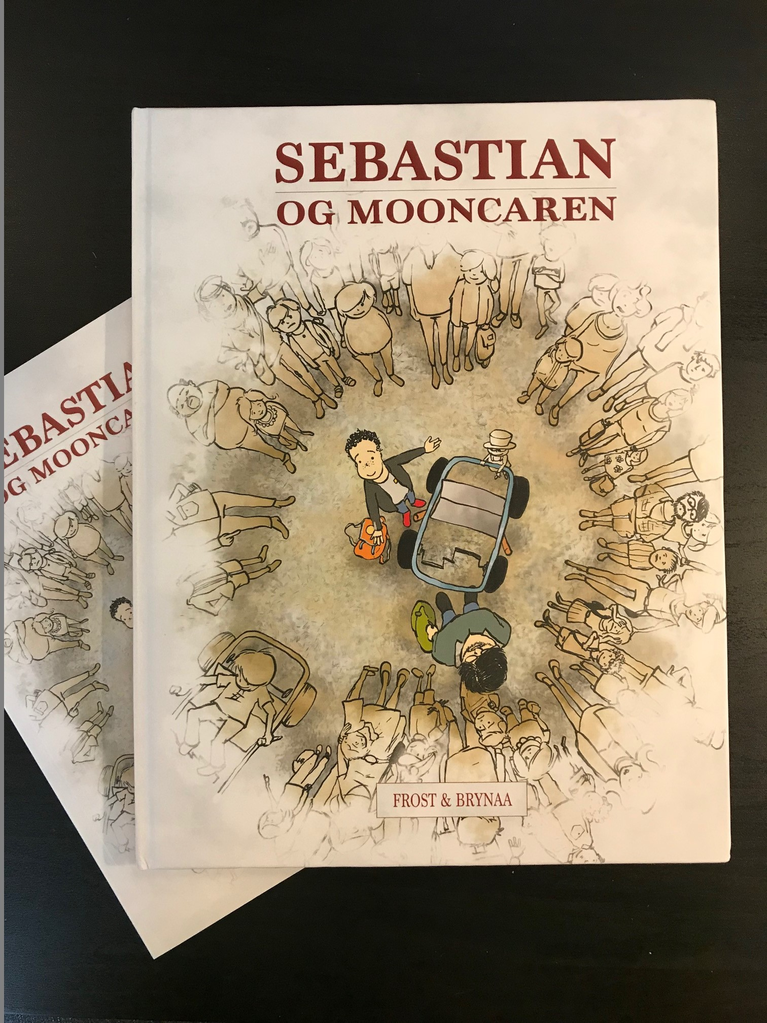 Sebastian og mooncaren stor