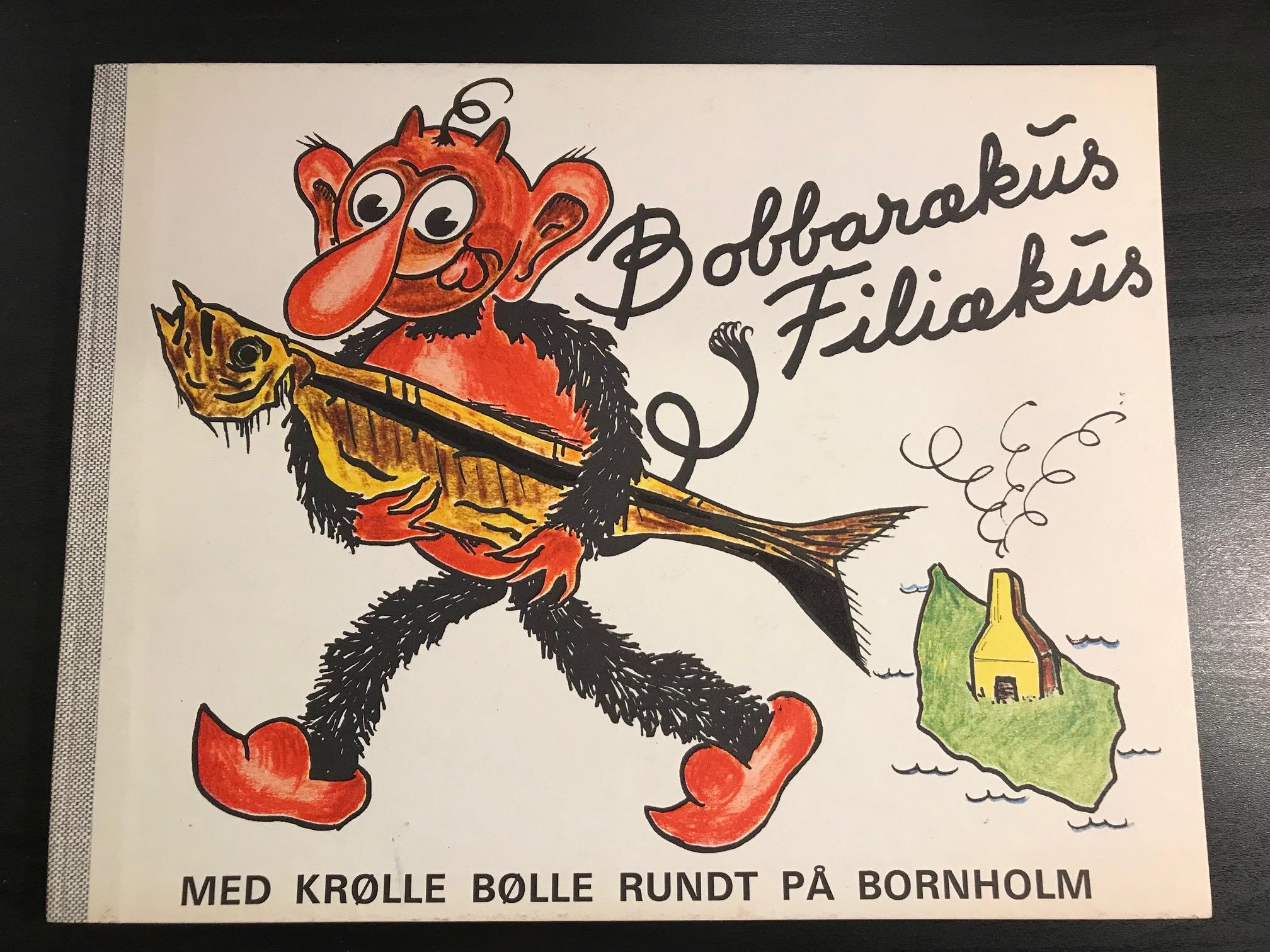 Bobbarækus Filiækus Med Krølle Bølle rundt på Bornholm