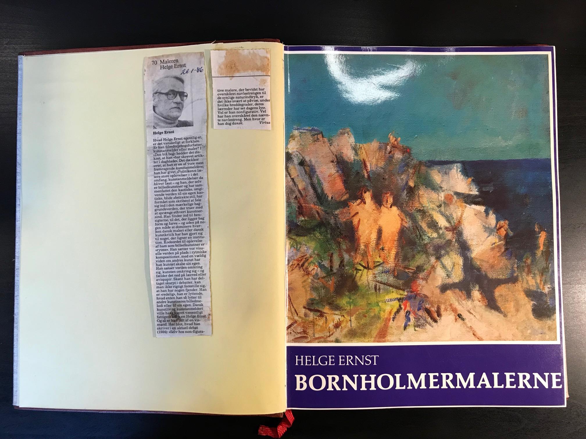 Bornholmermalerne - og malerne på Bornholm