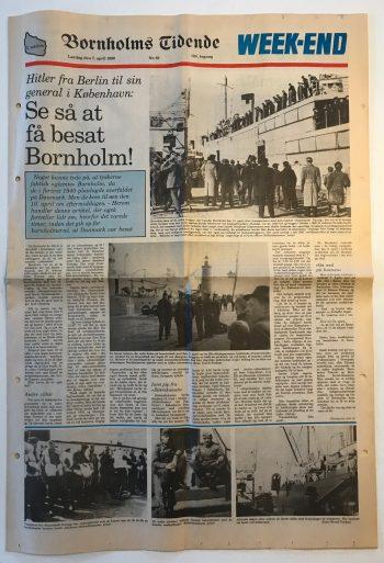 Se så at få besat Bornholm Bornholms Tidende 7. april 1990