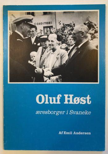Oluf Høst - æresborger i Svaneke