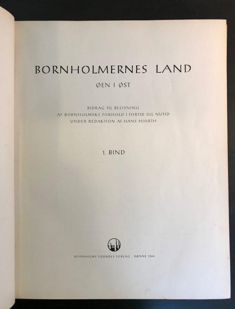 Bornholmernes Land øen i øst
