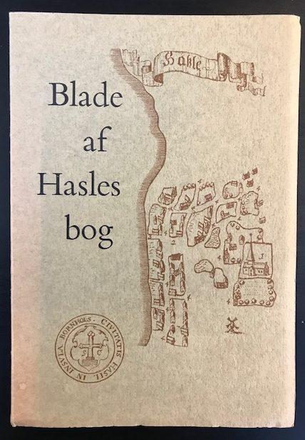 Blade af Hasles bog