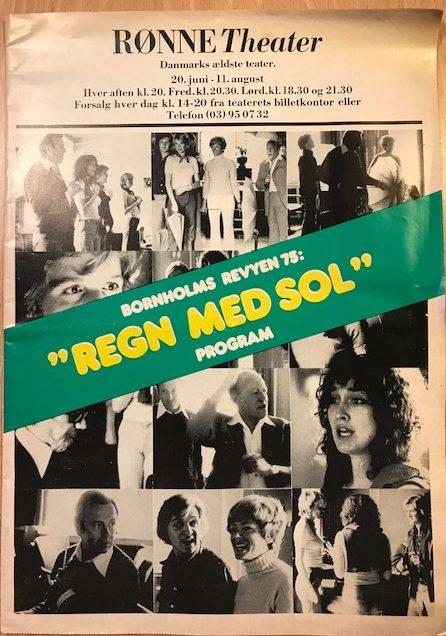 Regn med sol - Bornholms Revyen 1975