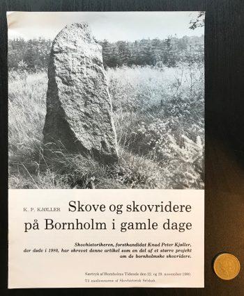 Skove og skovridere på Bornholm i gamle dage