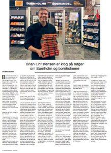 Magasinet Bornholm Bornholms Lille Boghandel
