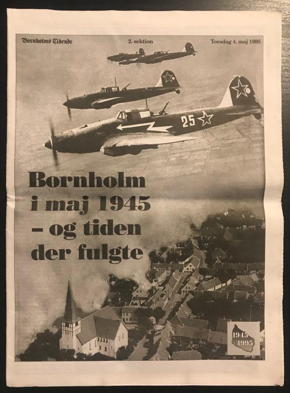 Bornholm i maj 1945 - og tiden der fulgte