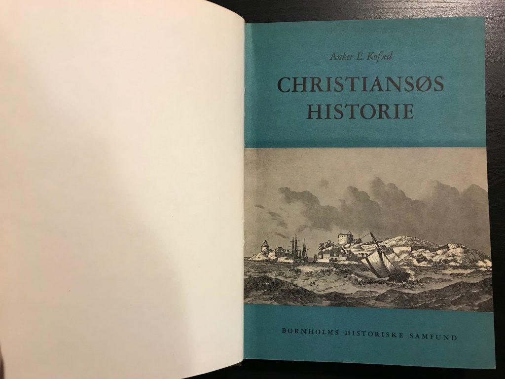 Christiansøs historie (indbundet) opslag